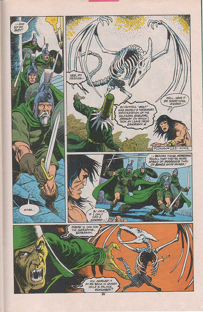 Conan the Barbarian (1970) Issue #257 #269 - English 20