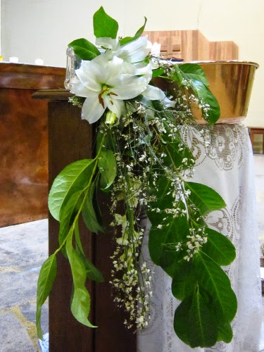Veillée pascale Fleurs