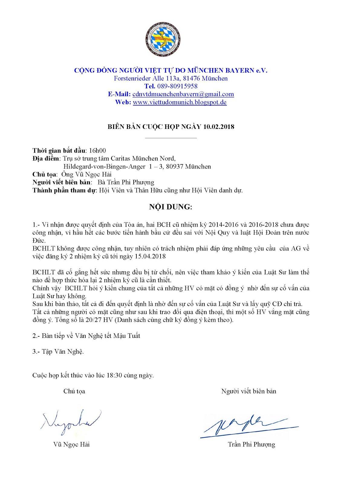 BIÊN BẢN CUỘC HỌP NGÀY 10.02.208
