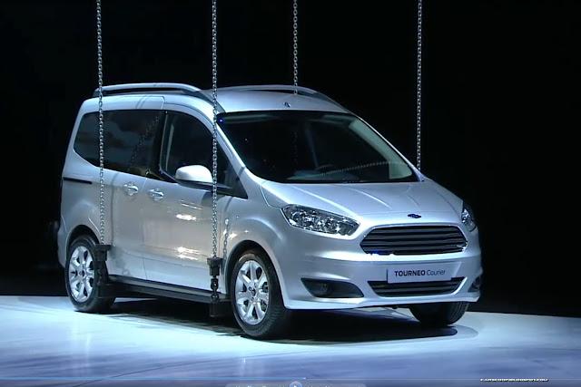 Ford Tourneo Courier ile Fiat Fiorino'ya rakip oluyor!