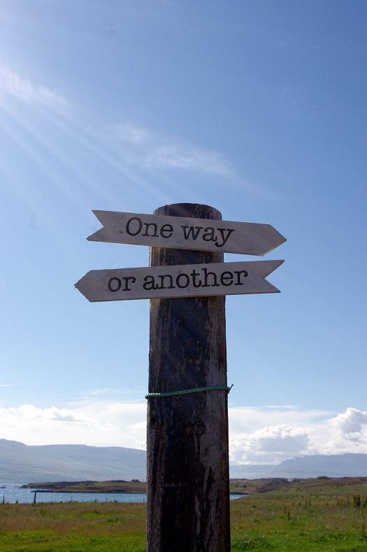 Ce chemin ou un autre ?