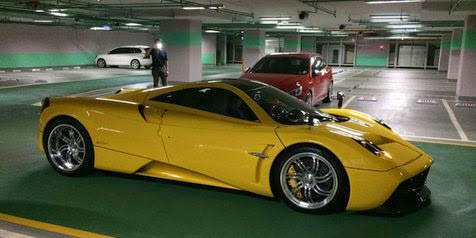 15th Anniversary, boy Can Supercar Pagani Huayra a Gift!