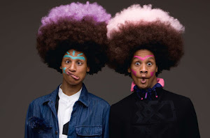 Les Twins by Oliviero Toscani