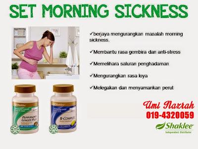 hilangkan morning sickness