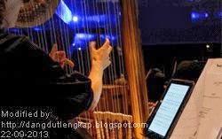 musisi orkestra selalu bawa catatan not balok saat main musik