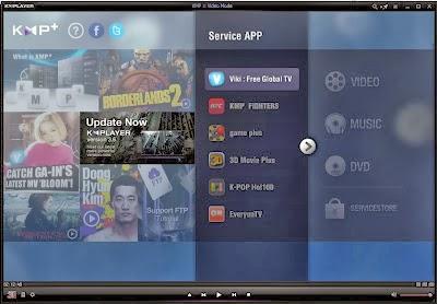 Screenshot Software KMPlayer