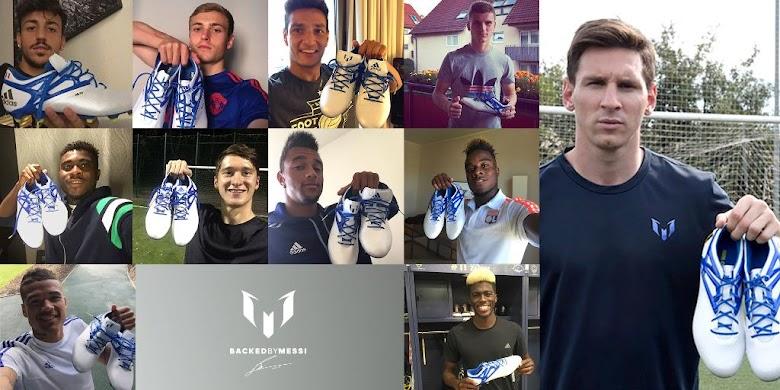 adidas y Team Messi lanzan serie sobre los futbolistas que usan los botines de Lio