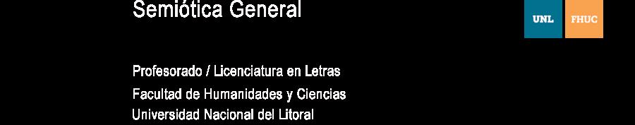 Semiótica General