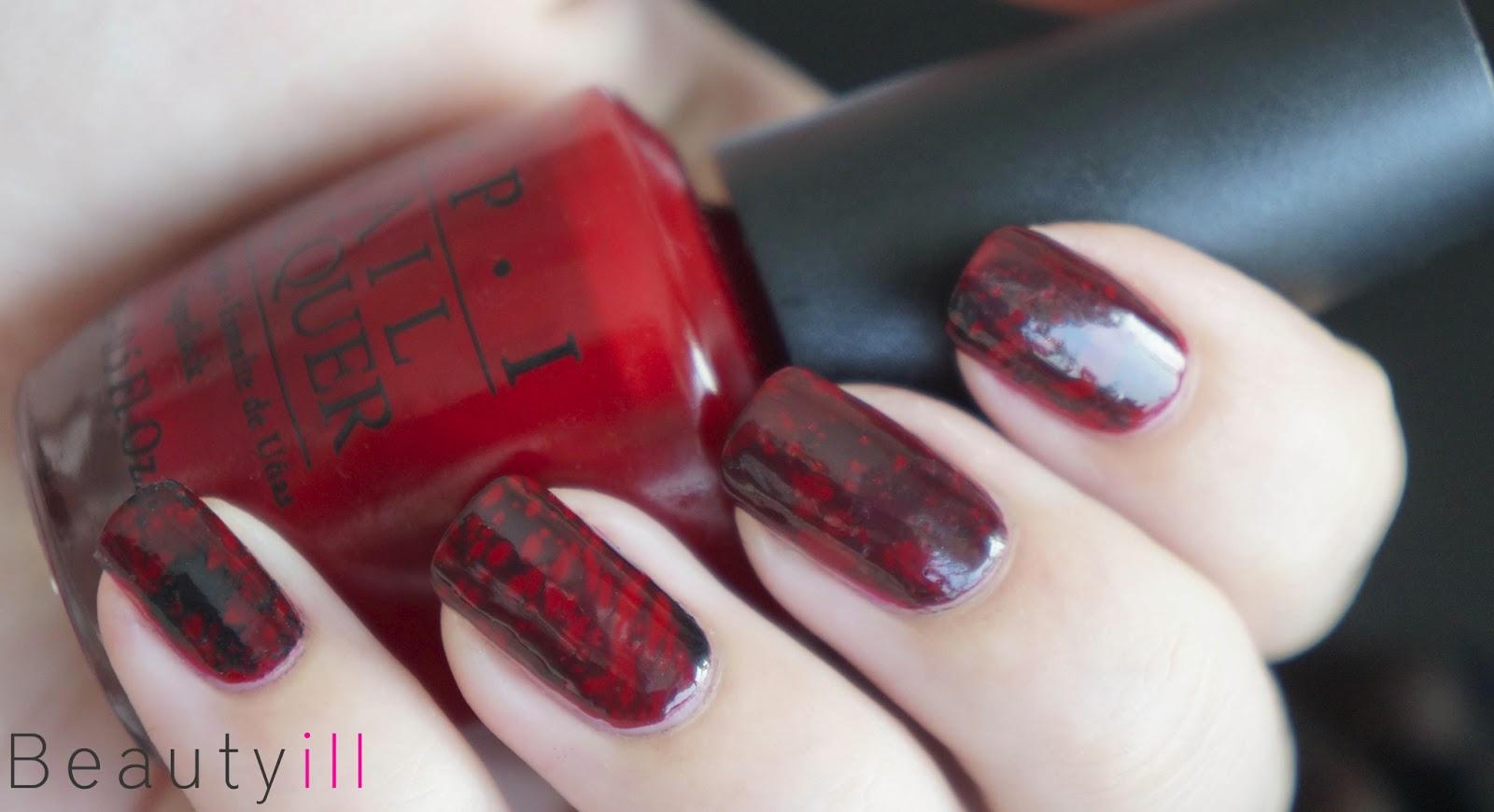 Diy Nail Art Spotted Nails Opi Inspired Beautyill