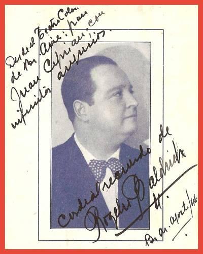ARGENTINE TENOR ROGELIO BALDRICH (1890-1975) CD