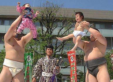Japonya'dan bir festival görüntüsü