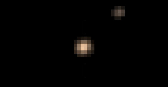 Color image of Pluto and Charon. Credit: NASA/Johns Hopkins University Applied Physics Laboratory/Southwest Research Institute