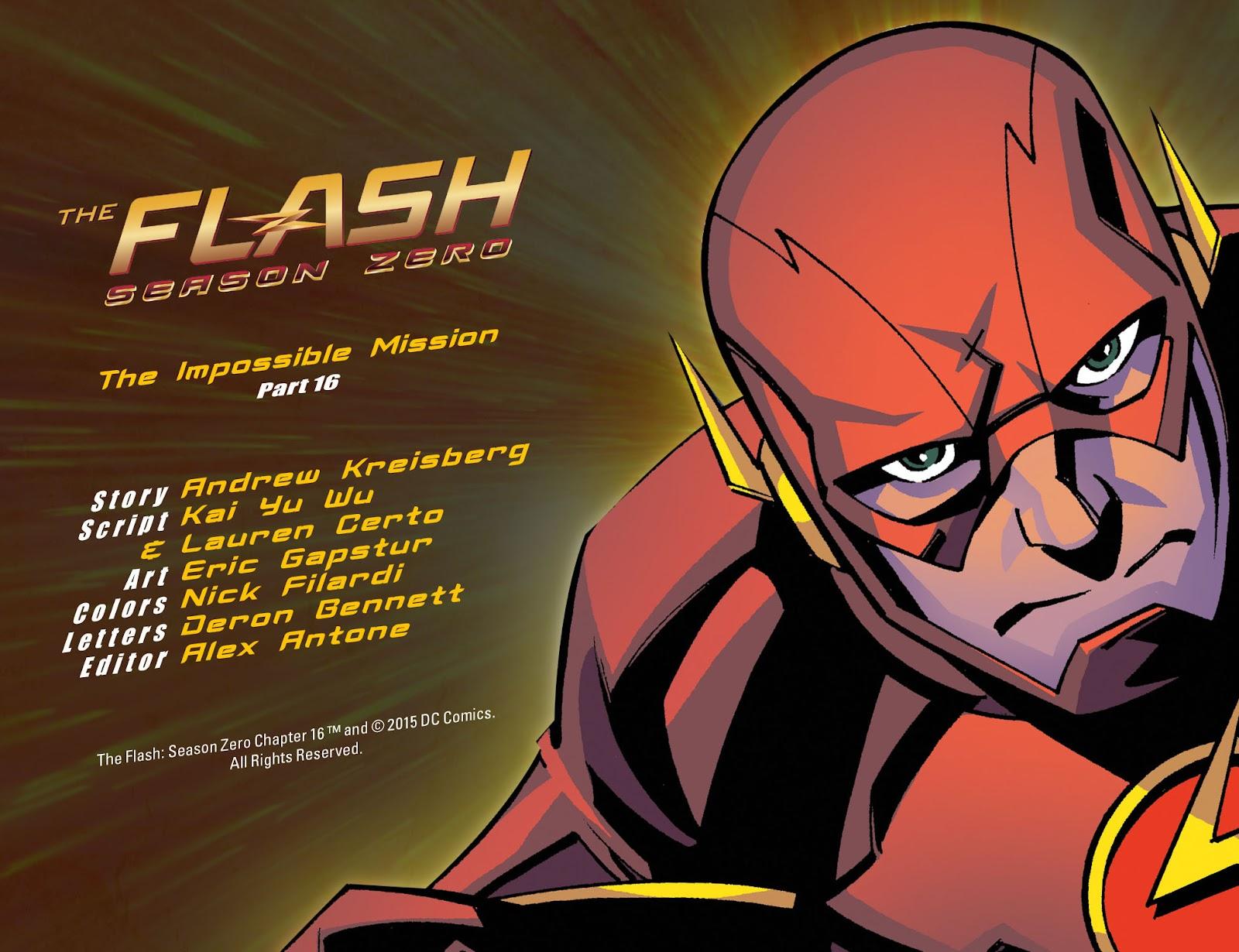 The Flash: Season Zero [I] Issue #16 #16 - English 2