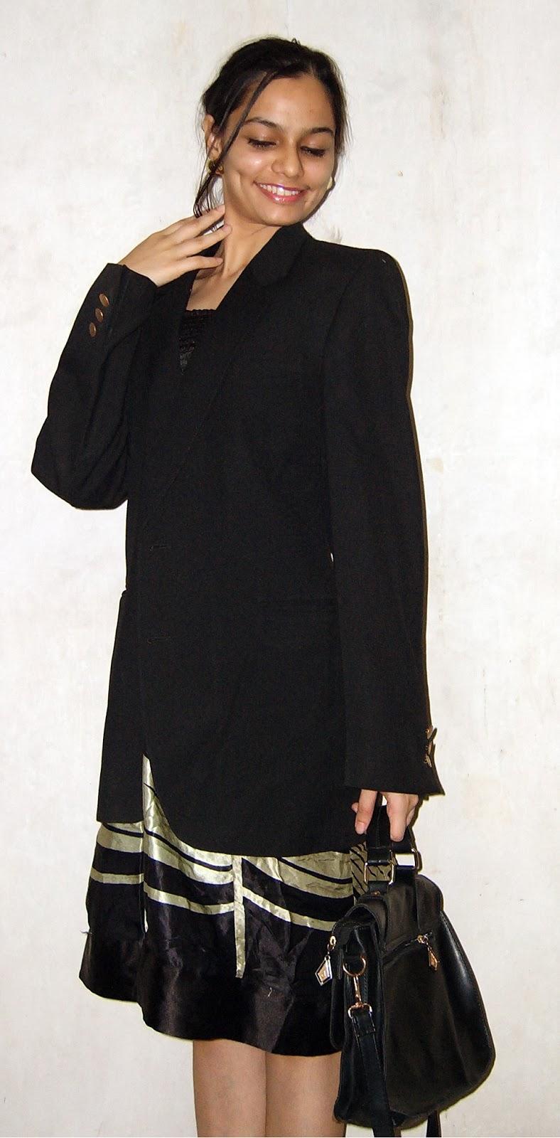 mumbai street style, oversized blazers, boyfriend blazer, outfit ideas for work, vintage blazer