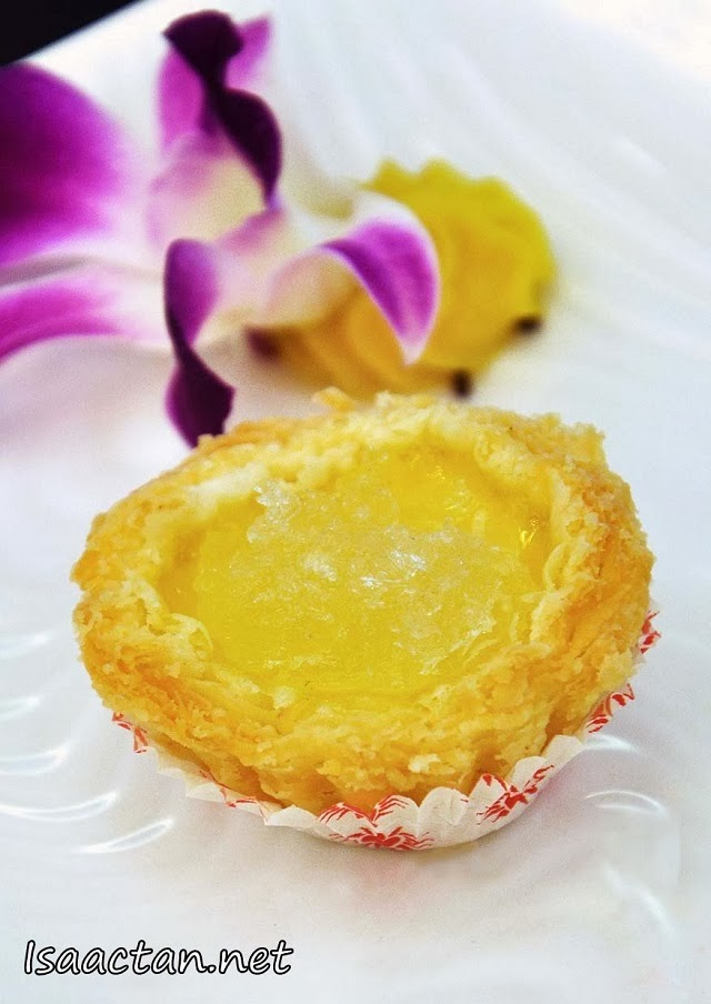 #7 Baked Egg Tart with Bird's Nest