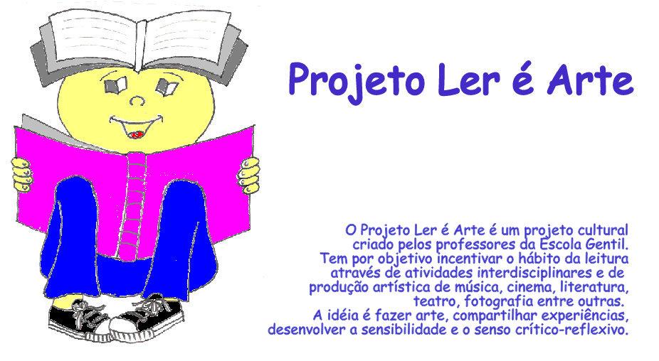 PROJETO LER É ARTE
