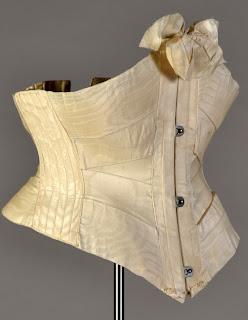 Ribbon corset, ca. 1900