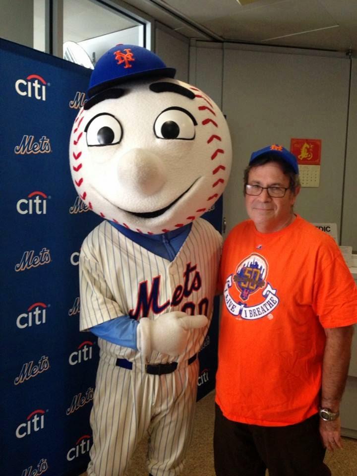 Bruce with Mr. Met Summer 2014