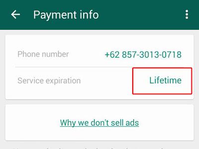 WhatsApp Sekarang GRATIS Se-UMUR HIDUP, Dedi Mukhlas
