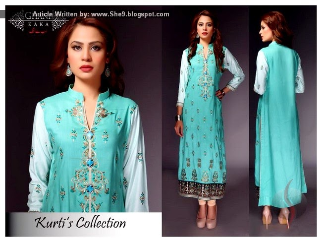 Long Kurti Fashion in Pakistan
