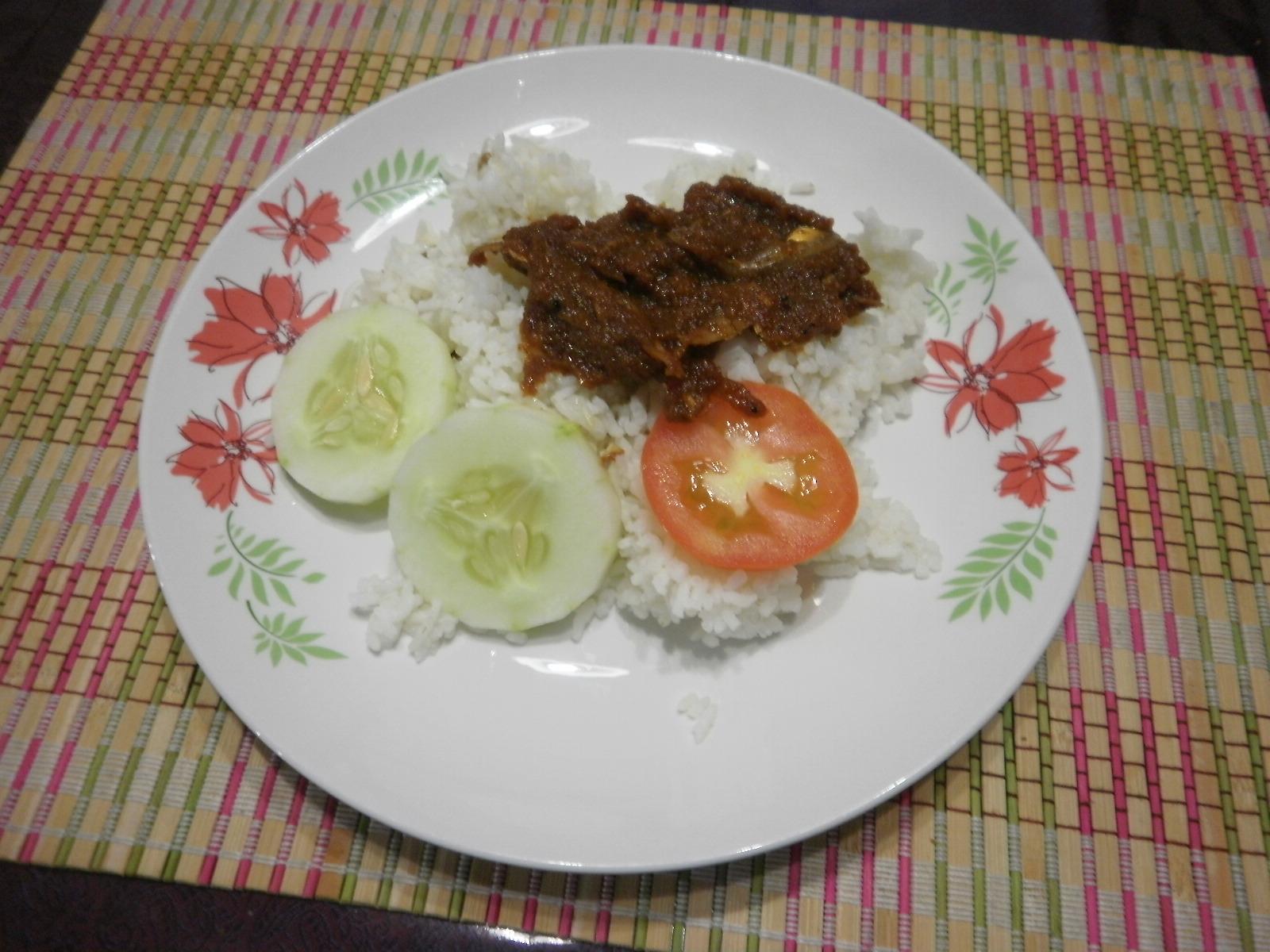 how to cook nasi lemak sambal