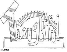 Coloring page world inspiring words for Word world coloring page