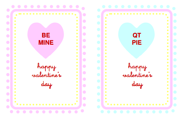 free printable valentines for classmates image