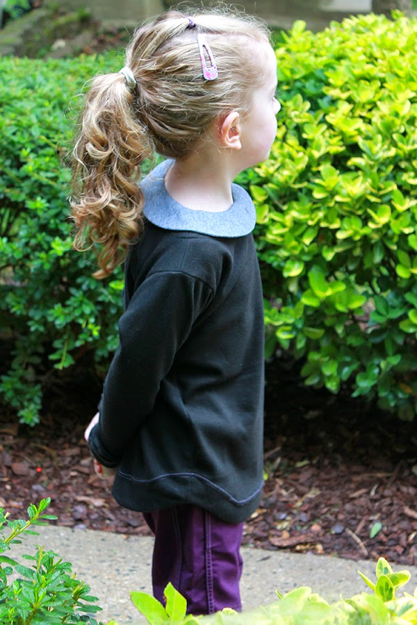 The Mimi Dress & Shirt is just one of five patterns (plus a sixth, bonus pattern) included in Pattern Parcel #5: Girls & Tweens | The Inspired Wren