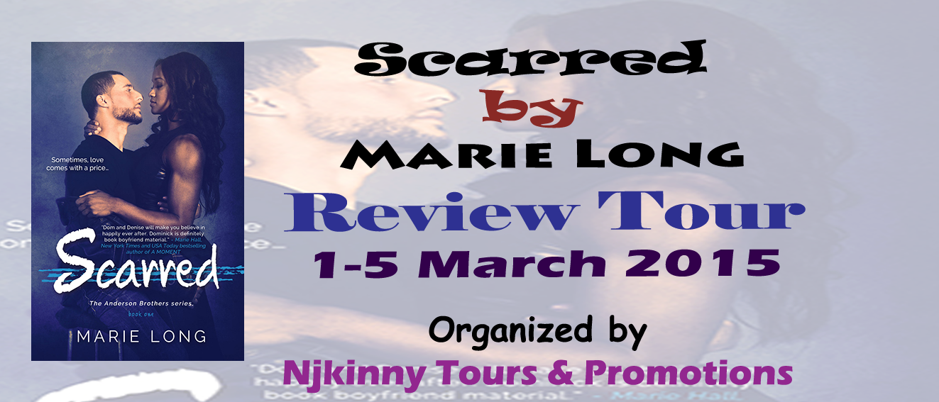 Review Tour: Scarred by Marie Long