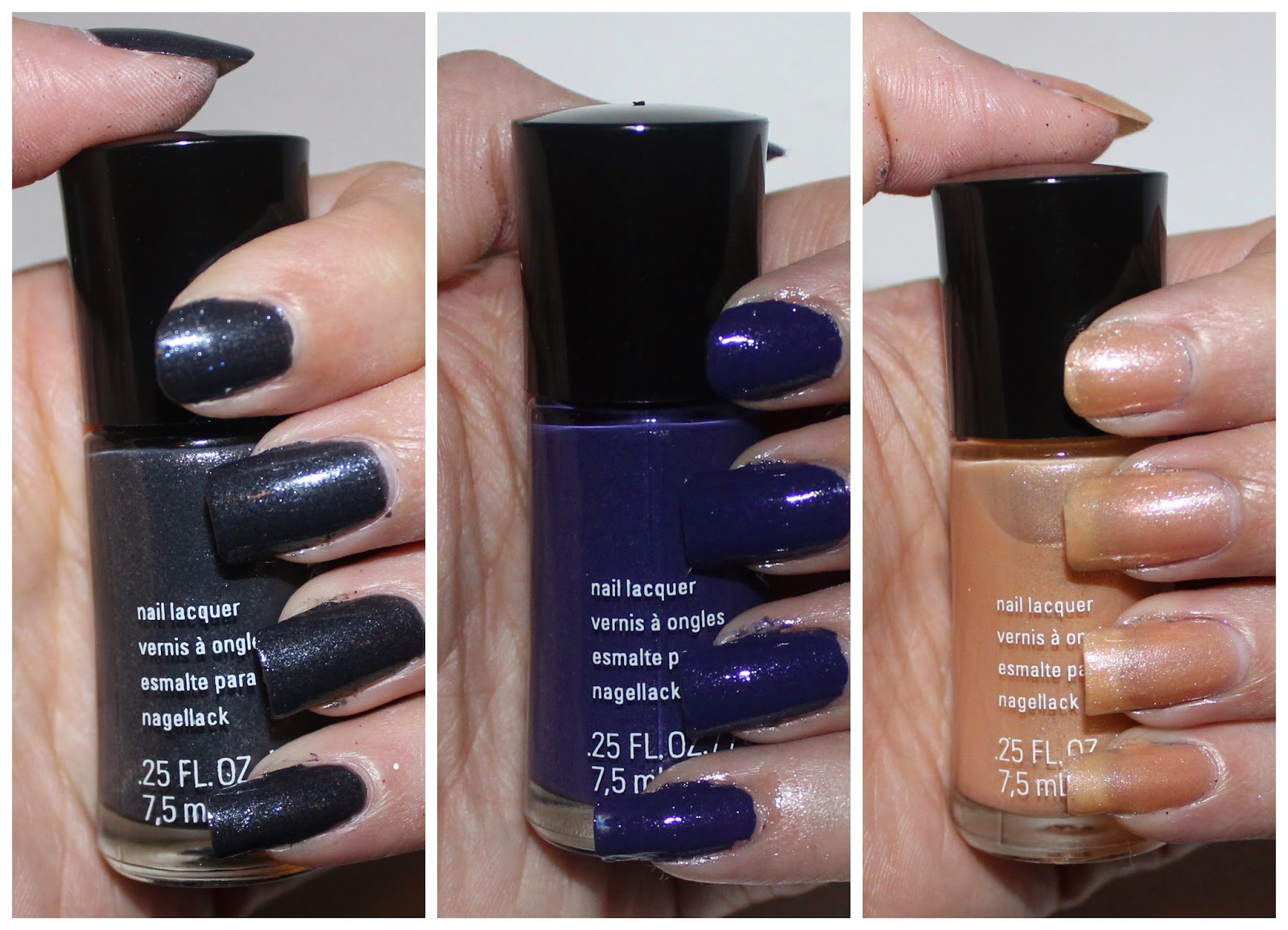 Beyond Blush: Mary Kay Nail Lacquer in Night Diamond, Sapphire Noir ...