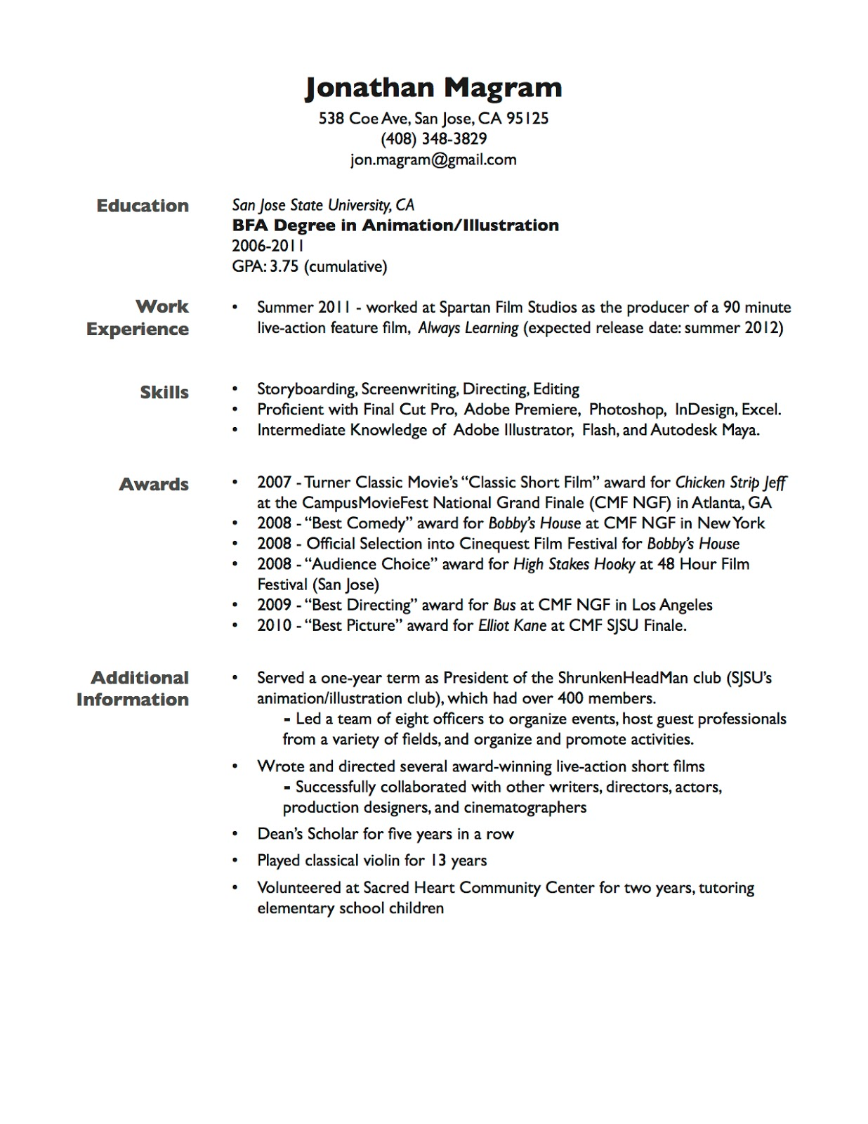 Put gpa on resume