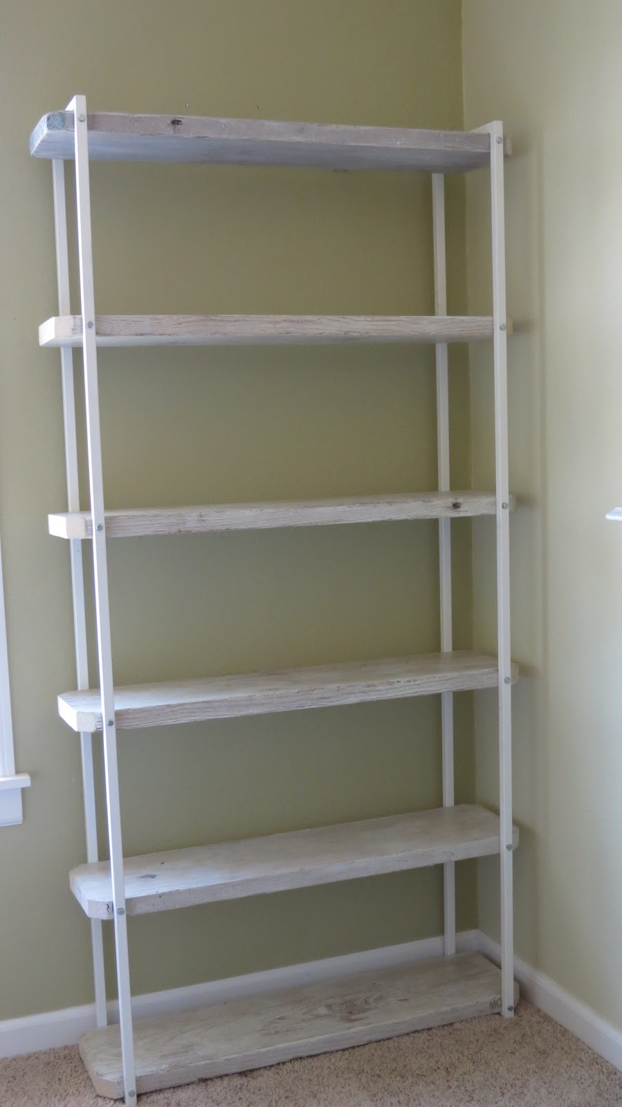 Faire Notions Junkinology 101 Bookcase From Repurposed