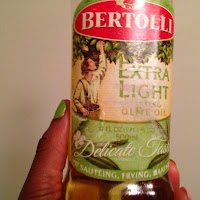 I use Bertolli Extra Light Olive Oil on my natural hair.