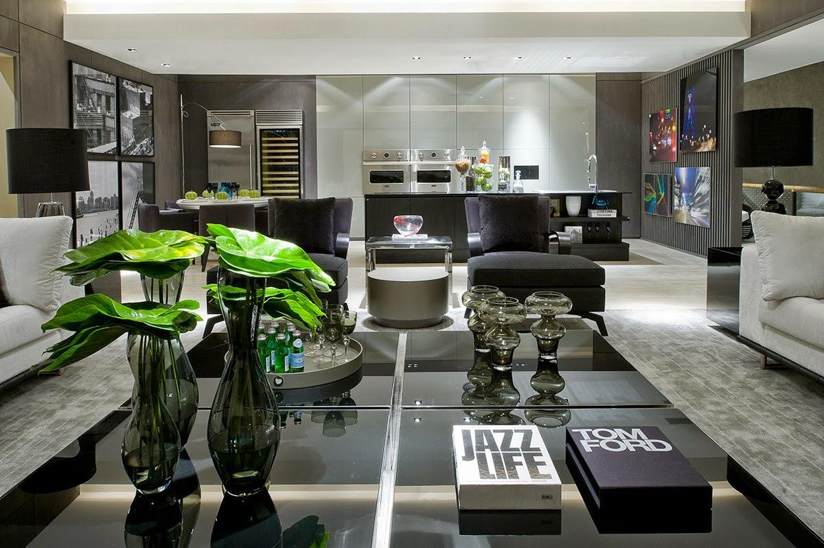 Ambientes sofisticados com estilo contemporâneo e clássico decorados  #71AD1E 1200 798