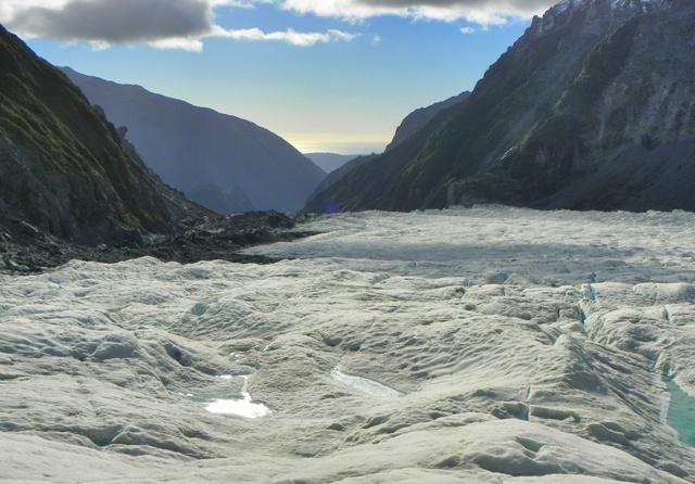 Glaciar Fox Nueva Zelanda