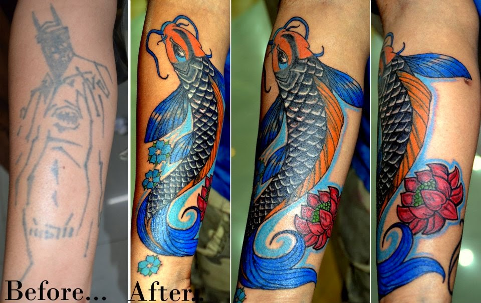 Best tattoo artist in jaipur cover up of an old tattoo for Best cover up tattoo artist