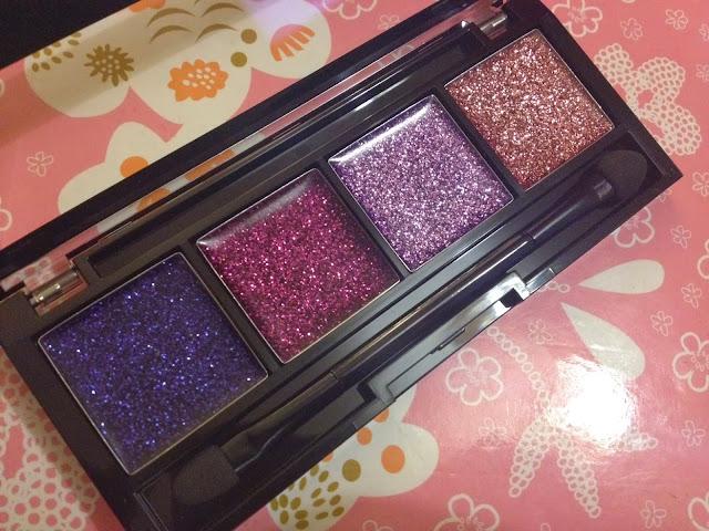 MUA Luxe Glitter Palette in Twilight