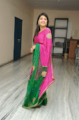 Priyanka Gorgeous Photos in Saree-thumbnail-19