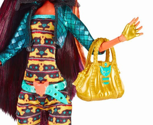 TOYS : JUGUETES - MONSTER HIGH Freaky Fusion - Cleolei : Cleo & Toralei | Muñeca | Doll  Producto Oficial 2014 | Mattel BJR39 | A partir de 6 años