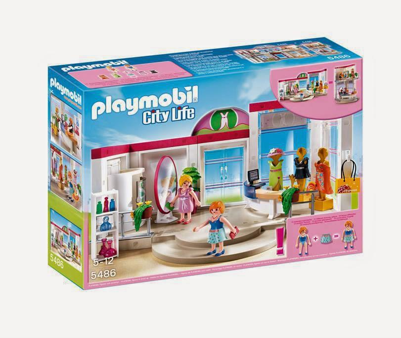 Libros y juguetes 1demagiaxfa juguetes playmobil city life centro comercial 5486 tienda - Playmobil piscina ballena ...