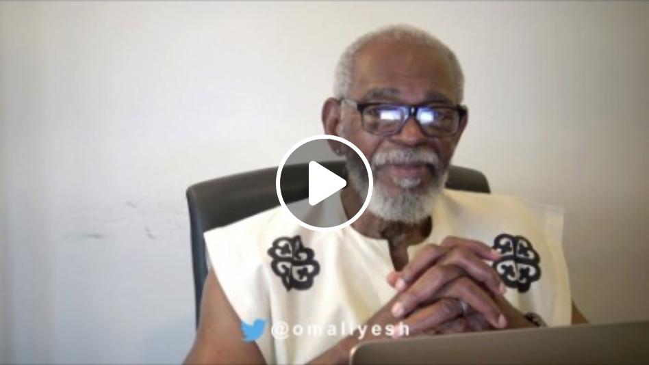 Chairman Omali Yeshitela interviewed on G-town radio explains the importance of Uhuru Furniture