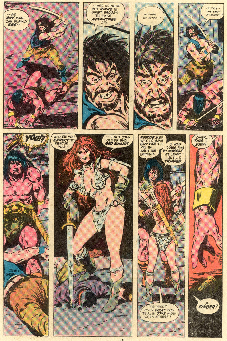 Conan the Barbarian (1970) Issue #78 #90 - English 7