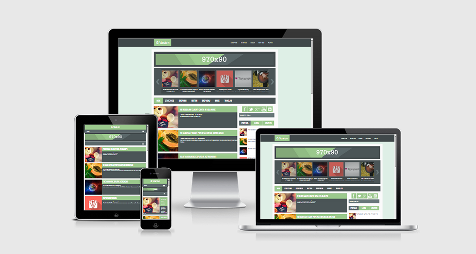Share template G VUSION responsive