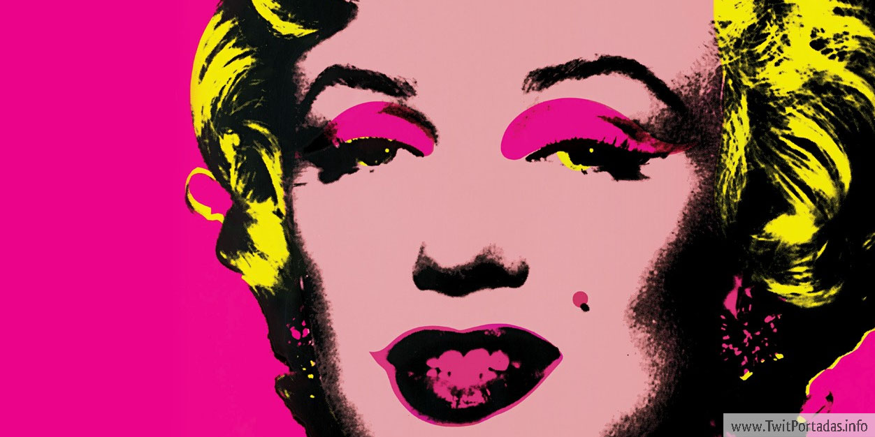 Art pop marilyn monroe
