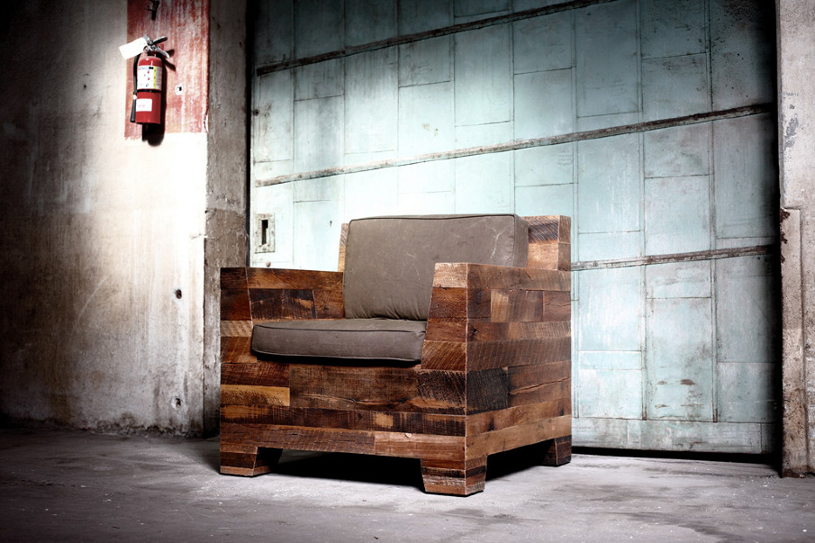 Lookingblog districtmillworks waste recycled wood furniture for Furniture u district