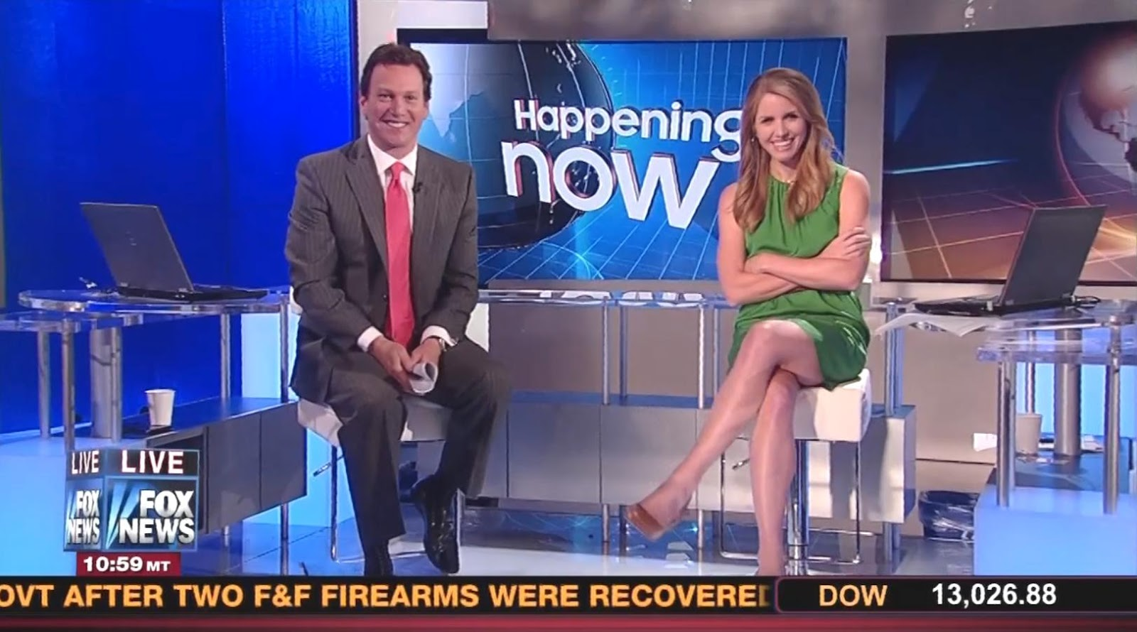 Jenna Lee From Fox News Channel Flaunting Legs and Thighs