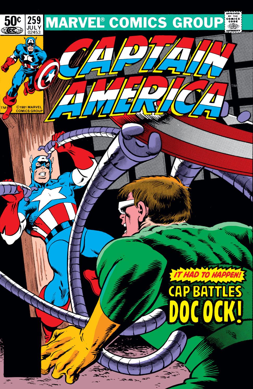 Captain America (1968) Issue #259 #174 - English 1