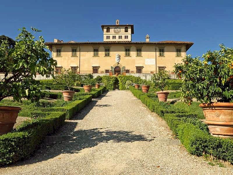 Villa La Petraia near Florence