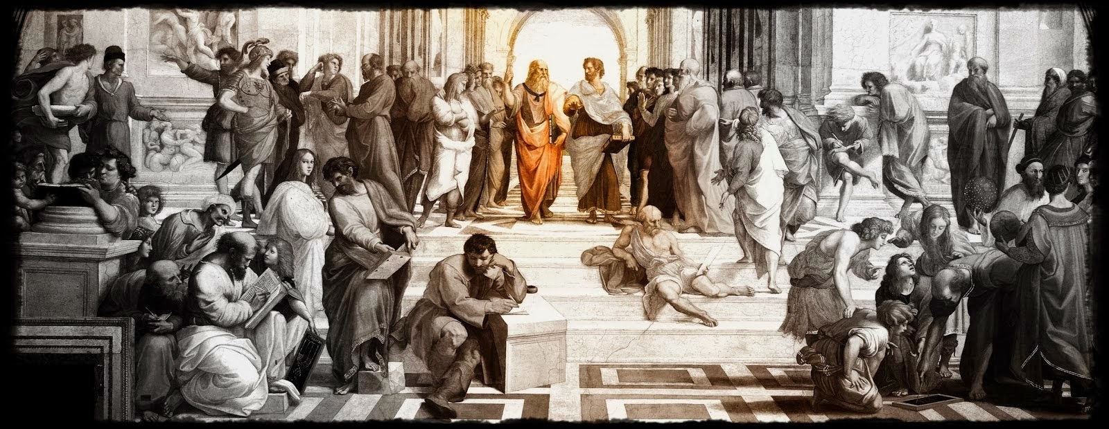 School of Athens, Greece - The Ancient Greek Philosophers