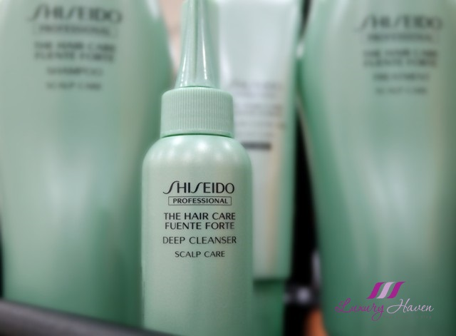 shiseido hair care fuente forte deep cleanser review